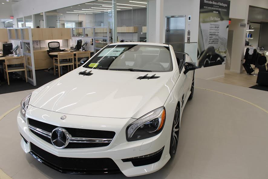 Mercedes benz of burlington adds a new name to car for Burlington mercedes benz dealer