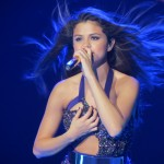 Selena Gomez performing at a concert in San Diego. Courtesy of Wikipedia Commons