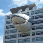 Discovery Building During Shark Week Courtesy of Wikipedia Commons